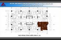 Bán cắt lỗ chung cư 79 Thanh Đàm, DT: 84.9m2, Giá: 13tr/m2, LH: 0984.486.179