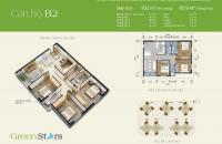 Bán chung cư green stars 63m,66m,102m giá rẻ nhất vào ở ngay