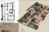 Bán chung cư Victoria Văn Phú 97,2m2, tầng 1804 ban công Đông Nam, giá  17,5tr/m2. LH 0989 094 625