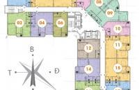 0917079825 Chính chủ cần bán gấp chung cư  CT2B Nghĩa đô  DT 72,01m2, tầng1504 , Giá 23,5tr/m2.