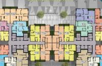 Bán gấp căn hộ Five Stars căn 09 (72,2m2, 2 phòng ngủ, 2 vệ sinh) view bể bơi, giá: 22.1 tr/m2