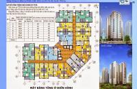 Chính chủ bán căn hộ CC CT2B Thạch Bàn,căn 1202, DT 74,7m2 (2PN, 2WC) giá rẻ