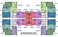 Chính chủ bán chung cư 75 Tam Trinh, căn góc 08,3PN, dt 98m2, giá 21tr/m2 0972114926
