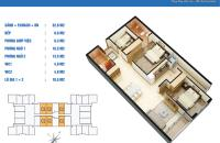 Bán căn C9,bc ĐN,dt 75m2 tại chung cư Golden West, giá thỏa thuận gặp chính chủ