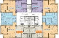 Chính chủ căn 1005 chung cư PCC1 Complex Hà Đông, dt 60,79m2,2PN, giá 14tr/m2 0944952552