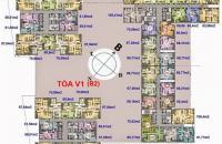 9.Bán chung cư Home City - Trung Kính Complex, căn 02,dt 68m2, tòa V3, giá 27tr/m2 Lh chủ nhà