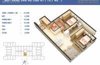 Bán gấp căn hộ B8= 75.5m2 chung cư golden west số 2 lê văn thiêm giá 27,5tr/m2 lh 0963002881