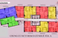 9.Chính chủ bán CC OCT5 Cổ Nhuế, căn 1202, tòa A, dt 69m2,SĐCC, giá 16.8tr/m2 LH 0975221690