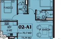 Bán căn hộ 12 tầng 18 chung cư G3AB Yên Hòa SunShine