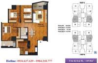 Chính chủ bán căn 124.85m2 chung cư New Skyline Văn Quán