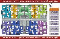 Chung cư Scitech Tower - 304 HTM diện tích 101m giá 19tr. tầng 1210