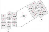Bán suất ngoại giao căn 10 tòa B1CT2 chung cư Tây Nam Linh Đàm, 100,87m2 giá rẻ