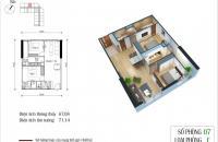 Tôi cần bán gấp căn hộ 2PN, DT 67m2, ban công Đông Nam dự án Eco green City.LH_0916510098