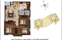 Bán căn hộ chung cư B1 CT2 Tây Nam Linh Đàm , giá chỉ 23,5 đến 24 diện tích 100,87m2   ký trực tiếp với chủ đầu tư. Liên hệ: 0981.961.268.