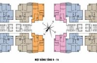 Bán suất ngoại giao căn 12 và căn 14 tòa A New Skyline Văn Quán Hà Đông Hà Nội diện tích 97,21m2.
