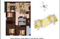 Bán chung cư căn 12 tòa B1 CT2 Tây Nam Linh Đàm đầy đủ nội thất 96,15m2.kí trực tiếp với chủ đầu tư Liên hệ : 0981.961.268
