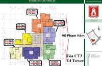 Mở bán chung cư E4 Vũ Phạm Hàm, Yên Hòa, Cầu Giấy. Vị trí đắc địa, giá cả cạnh tranh