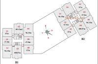 Bán suất ngoại giao căn 10 tầng 12 tòa chung cư B2CT2 Tây Nam Hồ Linh Đàm 67m2, căn góc đẹp nhất