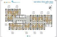 Bán căn hộ 57.7m2 với 2 phòng ngủ, hướng ĐN, tầng 10 dự án Park View Residence. CC: 0967.506.216