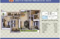 Bán suất ngoại giao chung cư A1CT2 Linh Đàm. Diện tích: 134 m2