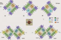 Cần bán gấp căn 1204 tòa B4 CC Green Stars - 234 Phạm Văn Đồng, diện tích 66,8m2, giá 26.3 tr/m2