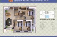 Bán căn 08 chung cư A1CT2 Linh Đàm. Diện tích 104,6 m2