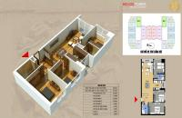 Bán cắt lỗ căn 1510 - 68m2 chung cư Helios Tower 75 Tam Trinh, giá rẻ 21.8 tr/m2