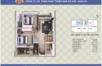 Bán chung cư A1CT2 Tây Nam Linh Đàm - Hoàng Mai - Hà Nội