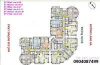 Chính chủ bán căn 04 (102.5m) tháp B CCCC 88 Láng Hạ, giá 43tr/m2