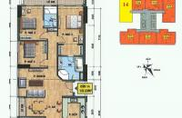 Tổng HUD mở bán đợt cuối căn hộ 1214, tòa VP2, bán đảo Linh Đàm, diện tích 137m2