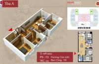 Vợ chồng tôi cần bán gấp căn 98,5m2, tòa B, CC Helios Tower 75 Tam Trinh, giá 21,5tr/m2