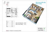 Bán chung cư Eco Green City giá chỉ 1,6 tỷ/căn sở hữu căn hộ 2PN, CK 4% vay LS 0%. LH: 0931774286
