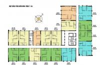 Bán chung cư CC view công viên Chu Văn An căn góc 12, CT4 Eco Green City. DT 66.62 m2, 2PN, 2WC