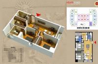 Chính chủ bán căn góc 01 diện tích 80.8m2, 2 phòng ngủ, tòa B chung cư 75 Tam Trinh