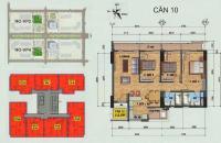 Chuyển nhượng CHCC 112m2, 3PN căn 1210 tòa VP4 bán đảo Linh Đàm, giá 3 tỷ