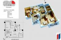 Chính chủ bán căn hộ Hapulico, lô góc, 128m2, 35 triệu/m2