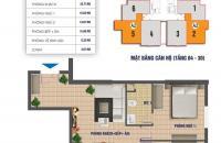 Bán gấp chung cư Nam Xa La, căn 1511, dt 83.8m2, giá 13.8tr/m2. LH chính chủ 0906237866