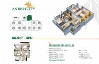 Suất ngoại giao tầng 16 dự án An Bình City 232 Phạm Văn Đồng