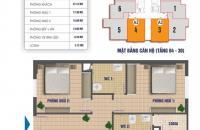 Bán CC chính chủ Nam Xa La - Phúc Hà, tòa CT1, diện tích 80.3m2 và 83.8m2, giá rẻ nhất