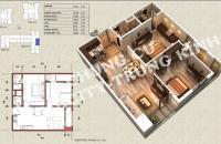 Bán căn 2P DT 71,17m2 căn 06 tòa V3 chung cư Home City - Trung Kính Complex. LH 0989,094,625