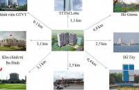 Cần bán căn 2 ngủ, 66.9m2 chung cư Hong Kong Tower, view đẹp, giá chủ đầu tư - 0989704285