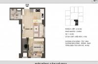 Cần bán căn 1 ngủ, 44m2, chung cư Hong Kong Tower - 0989 704 285