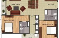 Bán gấp căn hộ 1802 tòa N04T1 Ngoại Giao Đoàn, Xuân Tảo, DT: 99.63m2, giá bán: 25.5tr/m2