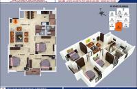 Bán căn hộ suất ngoại giao 3PN diện tích 100,87m2 tại dự án B1B2 Tây Nam Linh Đàm