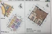 Bán căn góc chung cư HH01 Thanh Hà giá gốc 11 triệu/m2