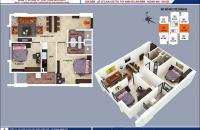 Bán căn hộ 67m2 2PN, 914B1 dự án B1B2 Tây Nam Linh Đàm. LH: 0974969399