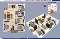Bán chung cư B1-B2 Linh Đàm. Diện tích 100,87m2, gía 23,5tr/m2
