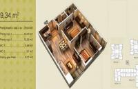 Bán giá 29tr/m2, căn hộ tòa V3 chung cư Home City, căn 2PN, 2WC, DT 69,34m2, LH: 0978967149