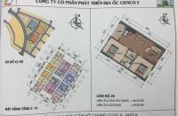 Cần bán gấp căn 10 - 26 chung cư HH01A Thanh Hà Mường Thanh