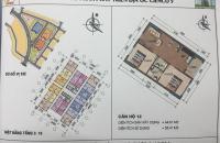 Bán gấp căn 64.81m2 HH01A chung cư Thanh Hà Mường Thanh, giá gốc 9.5 triệu/m2